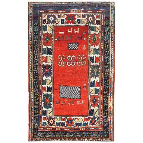 whimsical rugs whimsical antique kazak rug for sale at 1stdibs