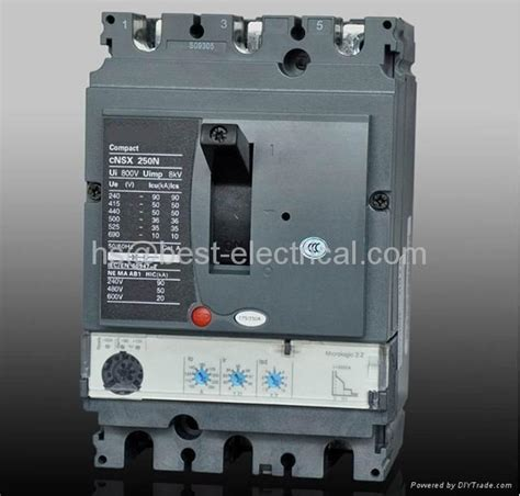 Schneider Electric Merlin Gerin Mccb Ezc 250 F Nfb 3phase 200 A schneider ns nsx compact mccb moulded circuit breaker