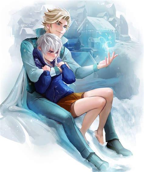 film frozen elsa and jack awesomeillustrations elsa jack frost genderbend