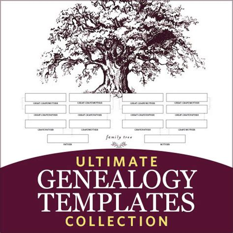 ultimate genealogy templates collection