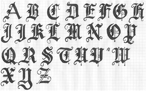draw old english letters hyspd letters by kaitolady on deviantart