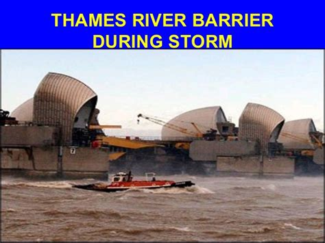 when will the thames barrier need replacing our legacy and global climate change part i