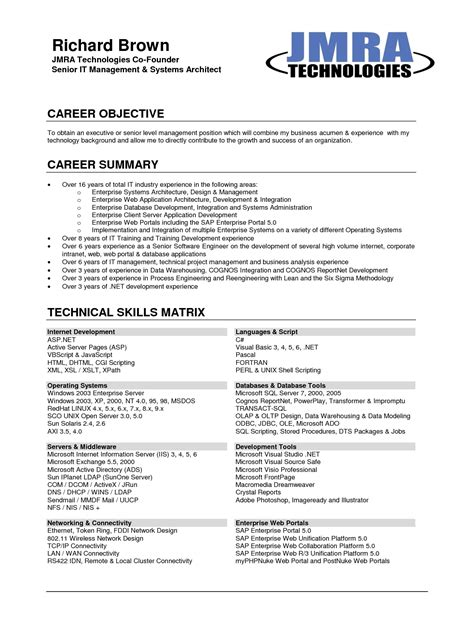 writing a career objective for a resume manuden