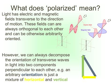 what does polarized light three big problems in cosmology ppt
