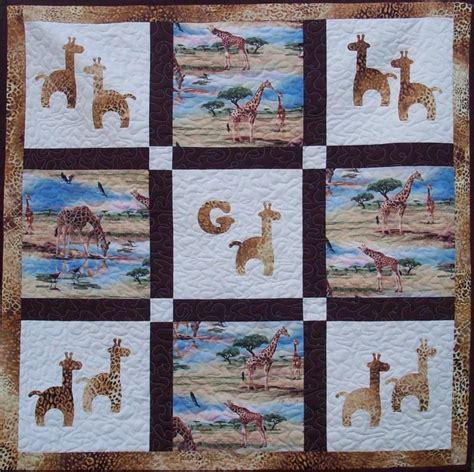 g is for giraffe quilt pattern av 137 advanced beginner