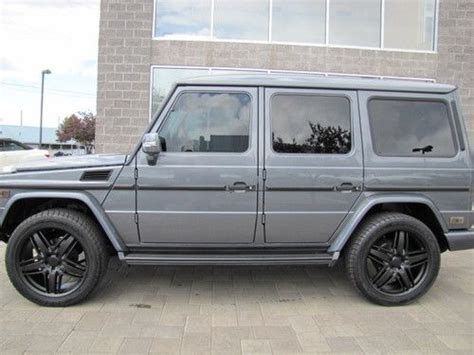mercedes g wagon blacked out buy used 2012 mercedes g 550 custom blacked out g