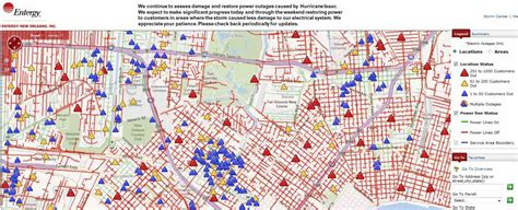 entergy outage map new orleans world map 07