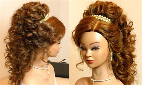 hairstyles curly hair for prom curly romantic prom hairstyle for long hair makeup videos