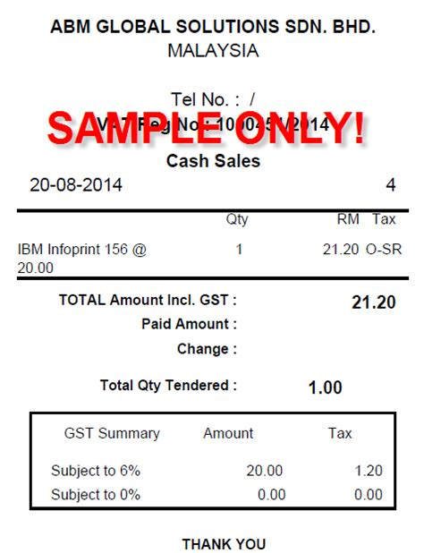 Sle Credit Note Malaysia Gst Malaysia Go Live 1 April 2015 Malaysia Gst Sap Business One On Cloud Simplified Tax