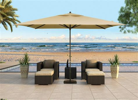 modern patio umbrellas outdoor patio umbrella size enjoying the days with