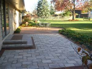 unilock brussels block patio images