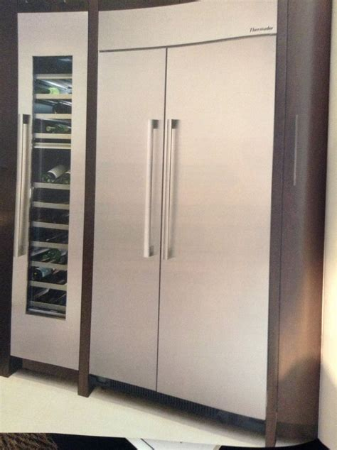 Wine Rack For Refrigerator by Fridge With Wine Rack Thermador Apartment Style