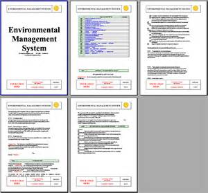 construction environmental management plan template iso 14001 environmental system instant