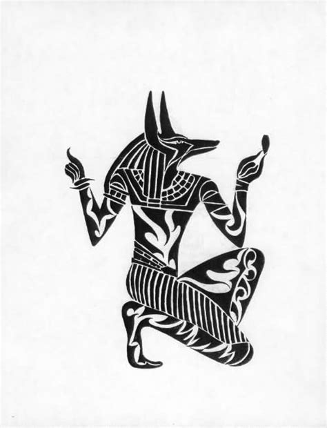 20 best anubis tattoo designs
