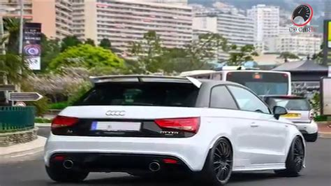 Audi A1 Turbo by Audi A1 Modified Exhaust Turbo Hd 720p