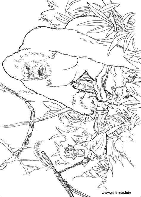 Coloring Page King Kong by King Kong 16 King Kong Printable Coloring Pages For