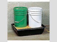GRAINGER APPROVED Spill Containment Pallets, Uncovered, 5 ... Secondary Containment Tray