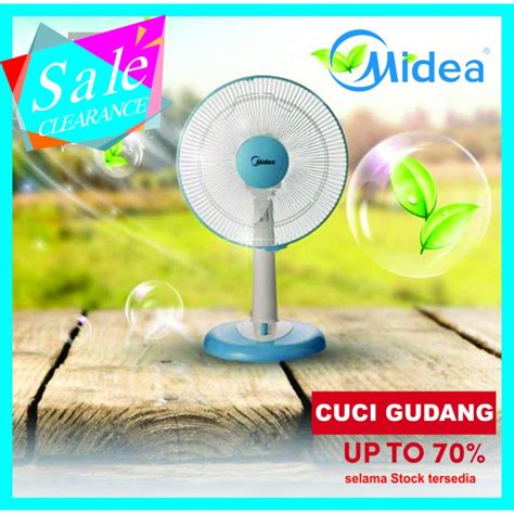 Kipas Midea kipas angin midea fan tipe ft 30 8 j