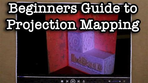 tutorial video mapping projection 3d projection mapping tutorial vdmx free template by