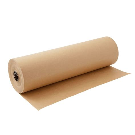 Brown Craft Paper Rolls - kraft paper roll 30 x 1800 150ft brown 100