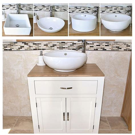 Painted Wood Vanity Unit bathroom vanity unit painted wood wash stand white