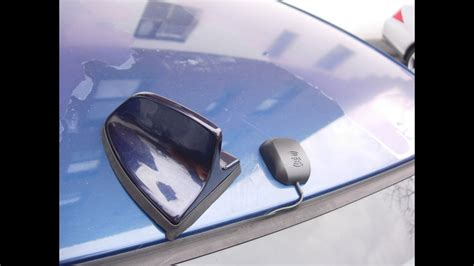 bmw  shark fin antenna retrofit  siriusxm roof