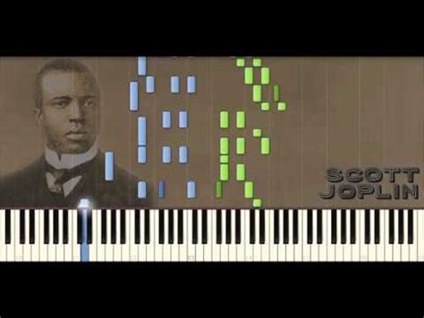 tutorial piano ragtime scott joplin piano rags the sycamore ragtime 36 piano