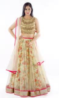 15 splendid floral lehenga choli designs sheideas