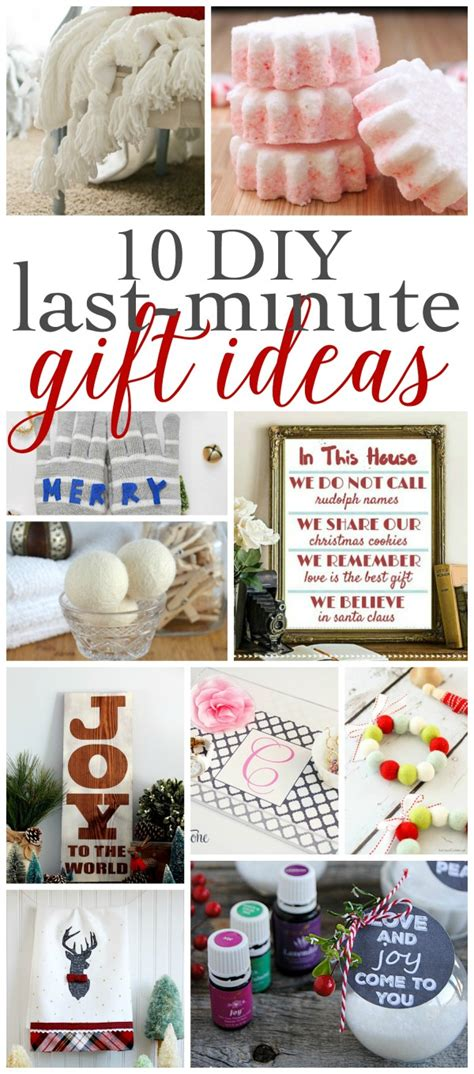 last 10 years christmas gifts last minute diy gift ideas work it wednesday and a giveaway the happy housie