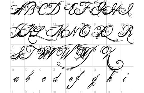 tattoo font queen king and font tattoos