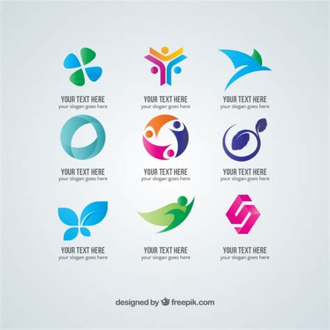 free logo vector templates business logos vector free