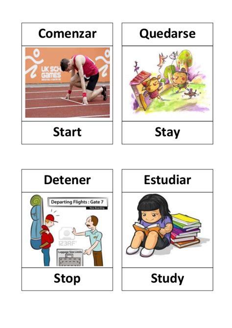 imagenes en ingles verbos verbos en ingles con dibujos verbs lists regular