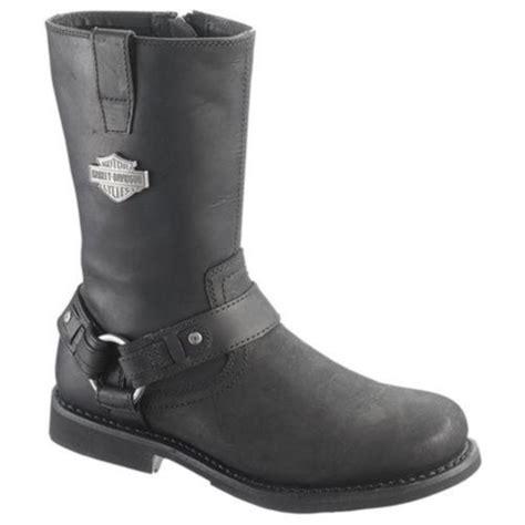 genuine harley davidson josh mens boots black size 8
