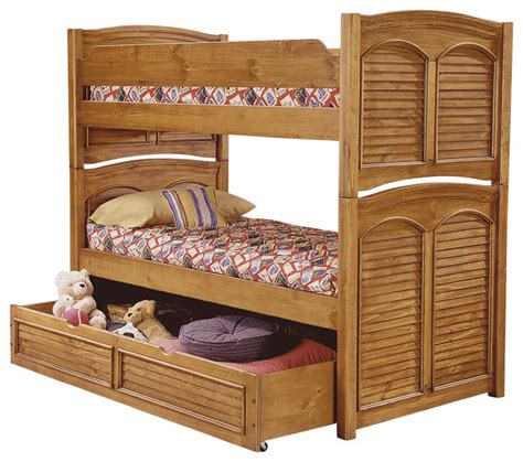 American Woodcrafters Bunk Beds American Woodcrafters Cottage Traditions Bunk Bed In Sandstone Furniture By