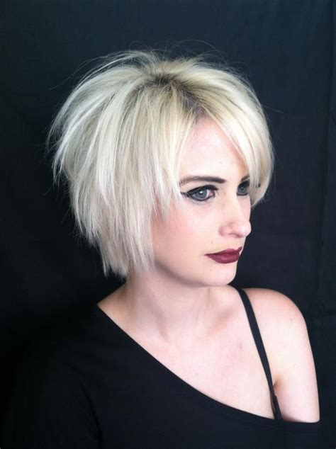 is a layered razor cut good for fine thin hair short razored layered haircuts short hairstyle 2013