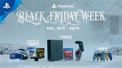 ps4 black friday sale ps4 black friday 2018 sales include a cheap spider man