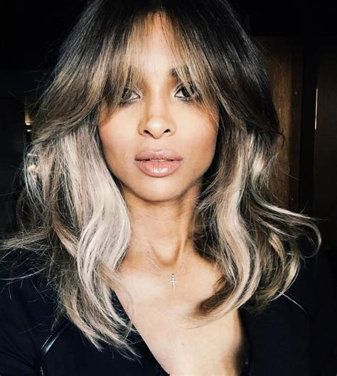 where to apply face framing highlights on short hair 20 chic celebs who are proving the lob haircut is back