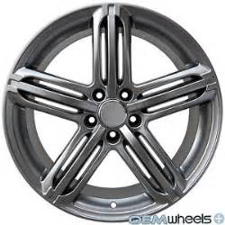 Audi Q5 19 Wheels 19 Quot Hyper Black S Line Style Wheels Fits Audi Q5 Quattro