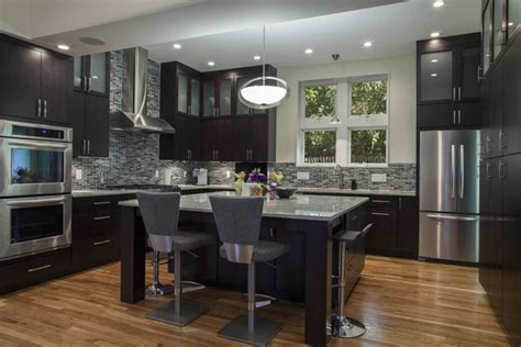 decorating ideas kitchen cabinets espresso with glass tile alluring replacement colonial white granite countertop