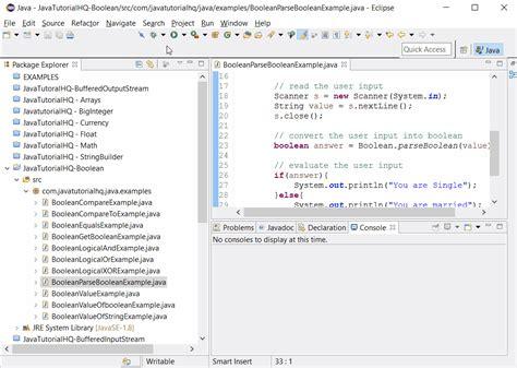 java pattern boolean java boolean parseboolean method exle