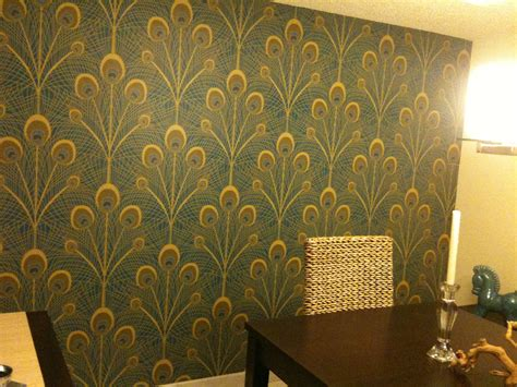 cheap temporary wallpaper before after covering wall to wall mirrors zania