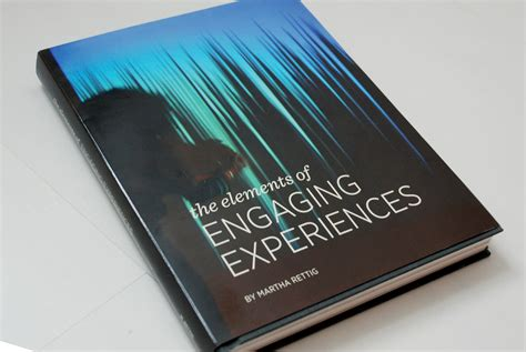 thesis books the elements of engaging experiences