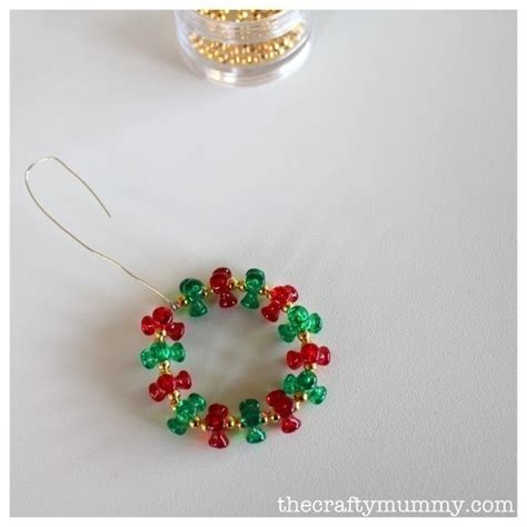 beaded christmas decorations 183 how to make a christmas
