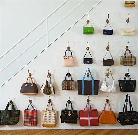 Wall Handbag Hooks Wall Purse Hooks Cabinets Closets And Storage