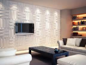 minimalist 3d board wall tv room design newhouseofart