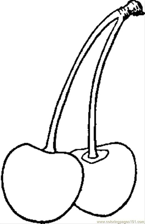 red heart coloring page roberts red heart cherry coloring page free cherries