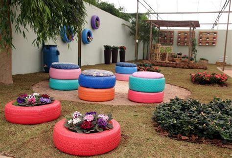 garden decoration with tyres 24 creative ways to reuse tires as a garden decoration