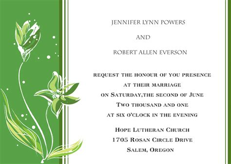 church wedding invitation card template falling wedding invitations ins056 ins056 0 00