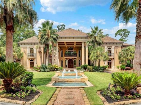 Luxury Mediterranean Homes newly renovated texas mansion perfect for organizing