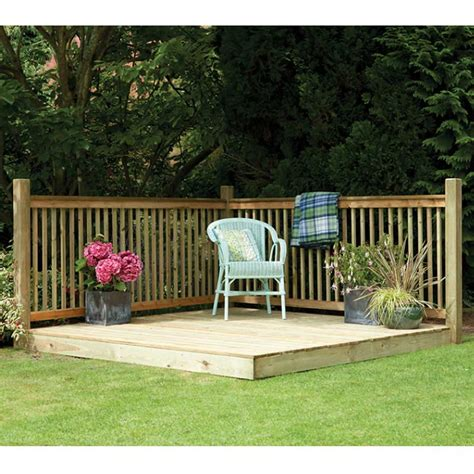 triyae backyard deck kits various design